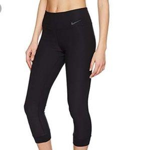 Nike Dri-fit Black Cropped Leggings